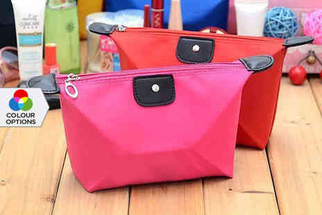 E Smartshop - Cosmetics Bag in a Choice of Colour - Save 90%