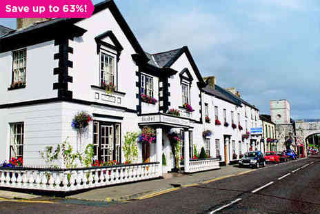 Londonderry Arms Hotel  - A Magical Getaway Along Irelands Antrim Coast Road - Save 63%