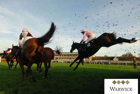 Warwick Racecourse - Entry to Races for One on March 18 - Save 56%