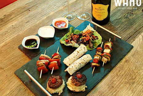 Wahu - Sharing Platter for Two with a Bottle of Prosecco  - Save 62%