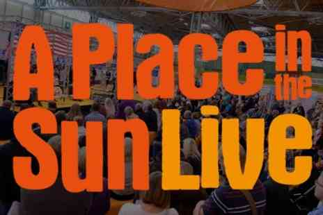 A Place in the Sun Live - Entry to A Place in the Sun Live  - Save 45%