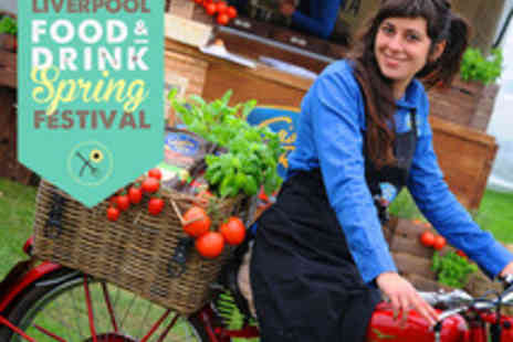 Liverpool Food and Drink Spring Festival - Two Day Pass for Two to Liverpool Food and Drink Spring Festival - Save 50%