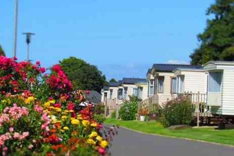 Hele Valley Holiday Park - Two Nights Stay For Two In a Luxury Caravan  - Save 0%