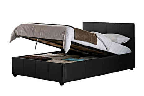 Einfeld  - Ottoman Storage Bed, Duvet, Linen & Mattress - Save 66%