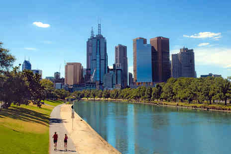 Royal Brunei Airlines -   £100 voucher to put towards return flights to Melbourne, Australia   - Save 95%