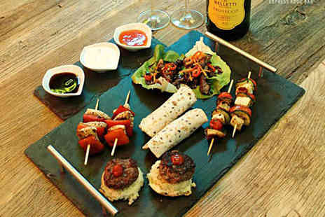 Wahu - Sharing platter for Two and a bottle of Prosecco  - Save 62%