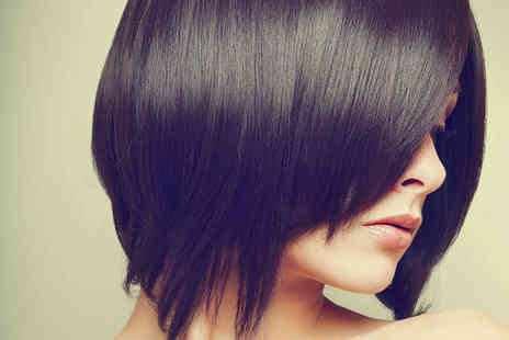 Keratin Salon - Haircut, Blow Dry, and Conditioning Treatment - Save 53%