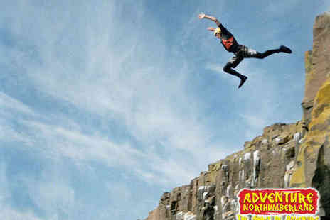 Adventure Northumberland - Coasteering or Kayaking Experience for One  - Save 50%