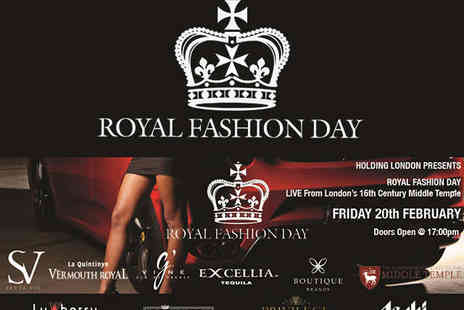 Middle Temple Hall - Ticket to Royal Fashion Day with Entry to After Party  - Save 41%