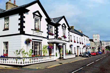 Londonderry Arms Hotel  - Two Night Antrim Coast Getaway for Two with Breakfast Daily and a Bottle of Wine If Dining - Save 63%
