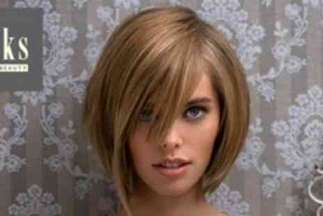 Saks Hair and Beauty - Restyle and Finish Plus LOreal Conditioning Treatment and Head Massage - Save 66%