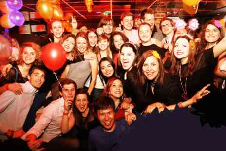 Nights Gone Wild - One ticket to an organised bar & night club crawl with 5 shots  - Save 0%
