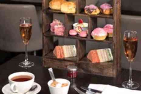 DoubleTree by Hilton  - Pink Champagne Afternoon Tea for Two - Save 52%