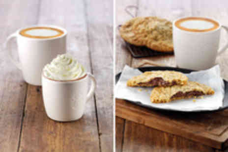Starbucks - A Choice of a Free Bakery Item or Kids Hot Chocolate When You Buy Any Espresso Beverage - Save 100%