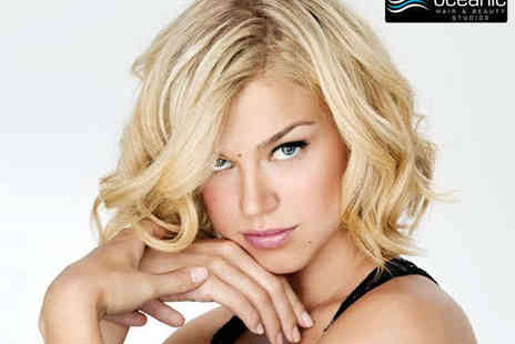 Oceanic Hair and Beauty - Haircut and Blow Dry with Full Head Highlights - Save 57%