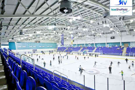 iceSheffield - Ice Skating for a Family of Four or Two Adults Available for Any Session - Save 53%