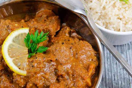 India Cottage - Starter, Main Course, and Rice Dish for Two  - Save 57%