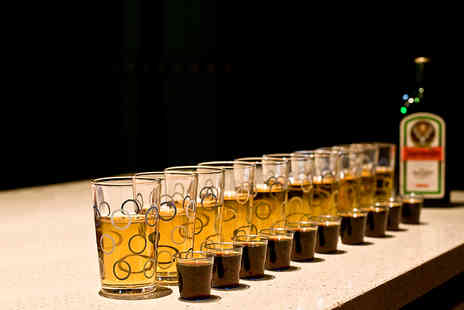 The old crown public house - 10 Jagermeister or skittle shots with mixers - Save 33%