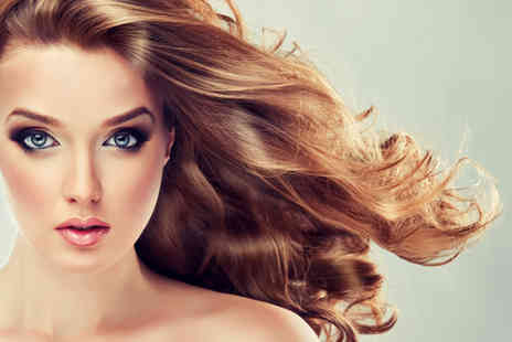 Vickis Hairdressing - Half head of highlights or full head of colour, plus a wash, cut and blow dry  - Save 62%