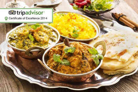 Sherwoods Restaurant - Two course Indian meal for Two including a coffee each and a side of Bombay aloo   - Save 61%