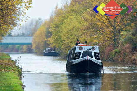 Bridgewater Heritage Boat Company - Canal Cruise with Afternoon Tea for Two - Save 50%