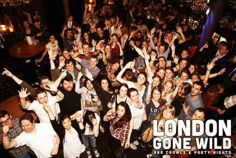 London Gone Wild - London Pub Crawl - Save 40%