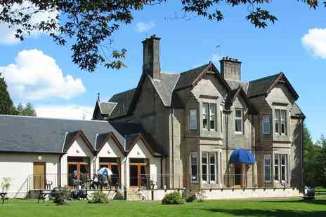 Strathblane Country House Hotel  - One night stay for two with dinner  - Save 51%