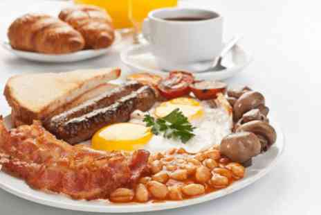 Blakemere Village - Full English breakfast, tea and toast Two - Save 69%