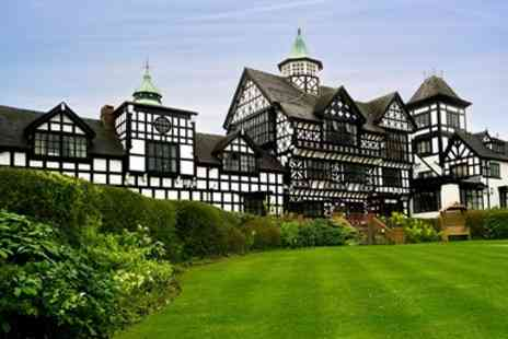 The Wild Boar -  Historic Tudor Style Cheshire Stay with Dinner - Save 44%