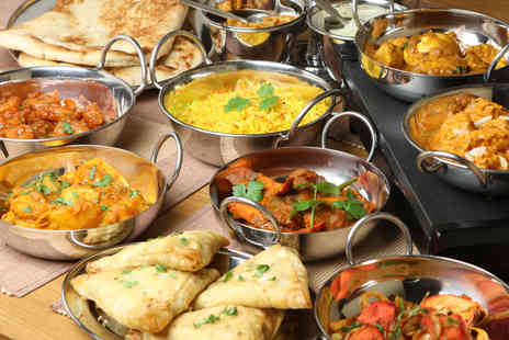 Bangla City - Two course Indian meal for Two with wine and sides  - Save 58%
