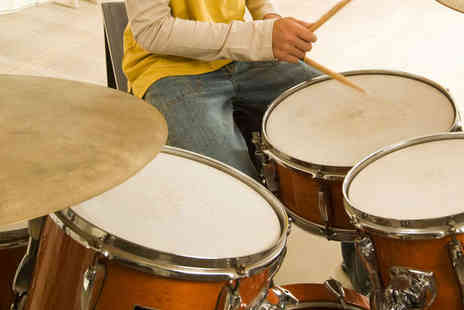 Drum Shop - One 30 Minute Drum Lessons - Save 53%