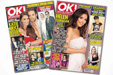 OK Magazine - Six Month, 26 Issue of OK Magazine Subscription, Delivery Included - Save 63%