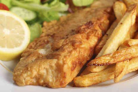 The Heritage Fish & Chip Shop - Fish and Chips for Two  - Save 56%