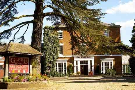 The Glebe Hotel - One Night Stay For Two With Afternoon Tea and Prosecco  - Save 56%