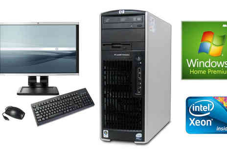 JMN Business Solutions - Superfast HP XW6600 Workstation - Save 87%