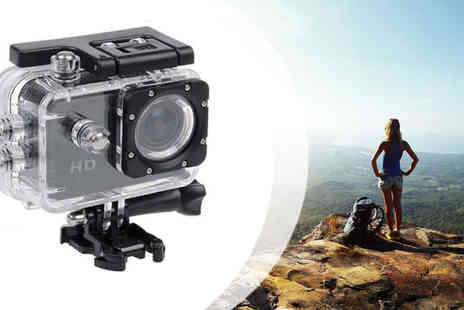TECHY TEAM  - Sports Action Camera - Save 48%