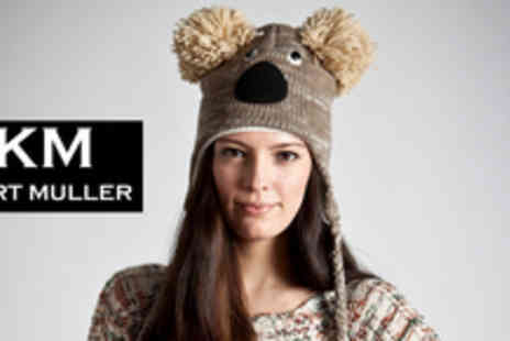 Kurt Muller - An animal hat or snood grab yourself some trendy, unique head gear - Save 52%