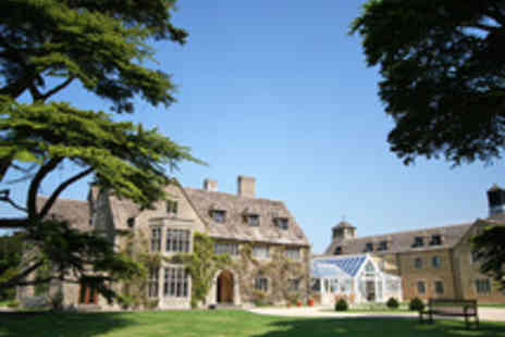 Stanton House Hotel - Country Manor House Cotswolds Break for Two with Dining Option - Save 58%