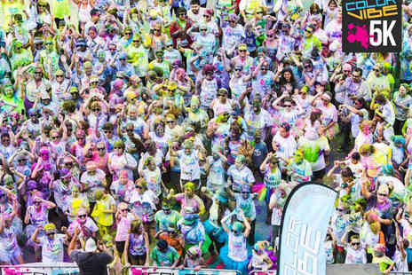 Color Vibe 5K - Color Vibe 5K Entry with T Shirt - Save 24%