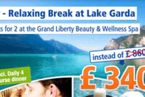 Grand Hotel  - 6 gorgeous days on Lake Garda in Italy - Save 60%