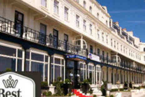 Dover Marina Hotel - 1 Night Stay With Breakfast for Two - Save 58%