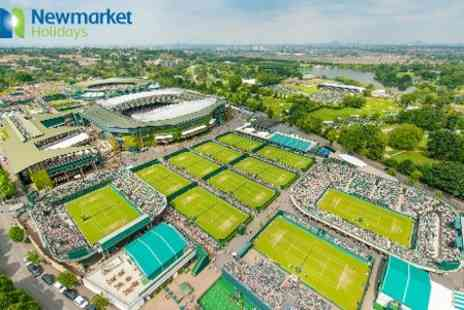 Newmarket Holidays - Tennis, Wimbledon  No 1 Court Ticket With 1 Night Stay Plus Coach Travel and Windsor Visit  - Save 0%