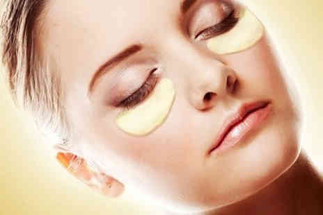 MRG Trading  - 50 Gold Collagen Eye Masks - Save 93%