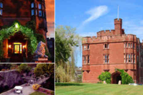 Ruthin Castle Hotel - Three night stay at the medieval 4 star Ruthin Castle for two people including breakfast - Save 73%