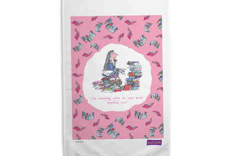 Every Tea Towel - A Choice of One, Two or Three Personalised Tea Towels Including Delivery - Save 52%