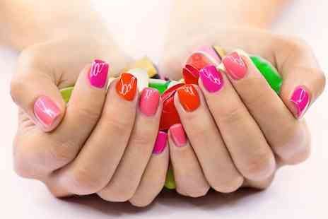 Unique Nail Art  - Manicure with a choice of nail application  - Save 64%