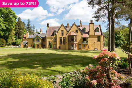 Leithen Lodge - A Graceful Sojourn to the Beautiful Scottish Borders - Save 73%