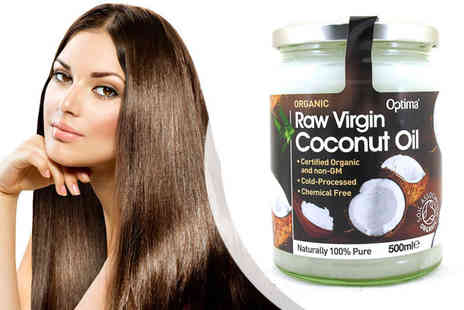 World Wide Shopping Mall  - Optima Health Organic Raw Virgin Coconut Oil - Save 46%