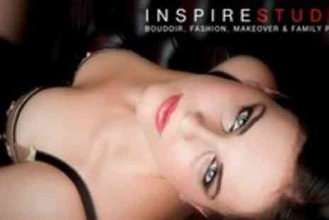 Inspire Studios - Boudoir or Couples Photo Shoot, With Nine Prints - Save 86%