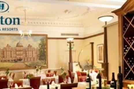 Hilton London Hyde Park - Two Courses of British Fare For Two With Glass of Bubbly Each - Save 57%
